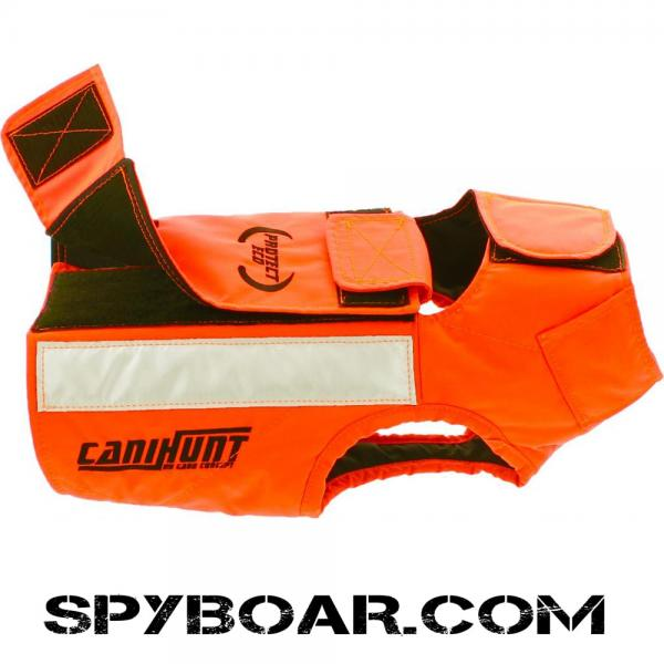 Protective vest CaniHunt PROTECT ECO for hunting dogs