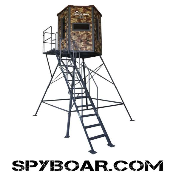 Hunting tower Hawk High Country Hex-Vision чакало